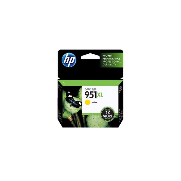 HP 951XL Yellow Original Ink Cartridge (CN048AN)(Single Pack)