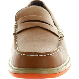 J's Awake Mens Raymond-31 Slip On Boat Shoes Loafers