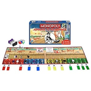 Winning Moves Monopoly Advance to Boardwalk-the Classic Game of High Rises  and Fast Falls Children's Board
