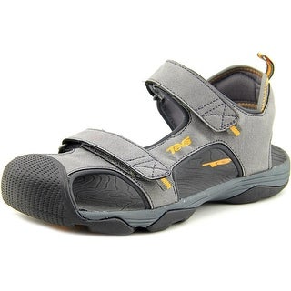 Teva Toachi 4 Youth Round Toe Synthetic Gray Sport Sandal