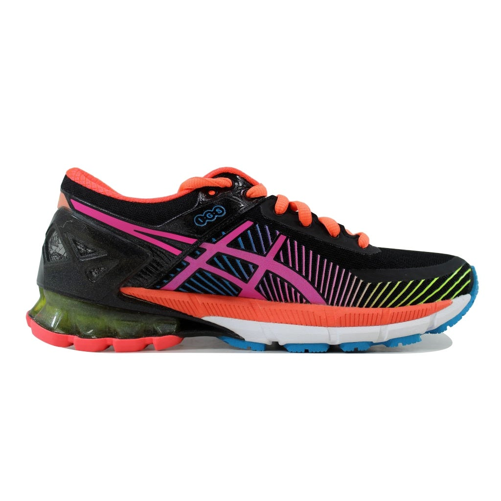 new style aa456 6fb5d Asics Women's Gel Kinsei 6 Carbon/White-Flash Coral T692N 9034 Size 6