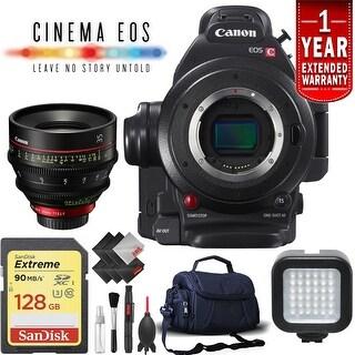 Canon EOS C100 Mark II Cinema Camera (Intl Model) w/ 35mm Lens Kit