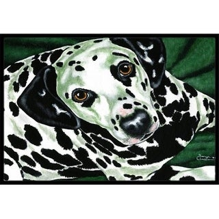Carolines Treasures AMB1359MAT Emerald Beauty Dalmatian Indoor or Outdoor Mat 18 x 27
