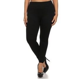 Women's Plus Size Basic Leggings