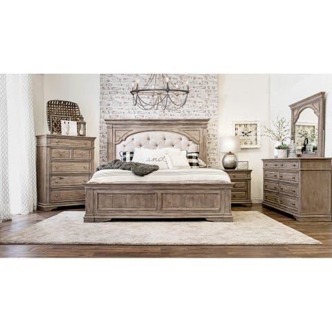 The Gray Barn Havenwood 5-piece Upholstered Panel Bedroom Set