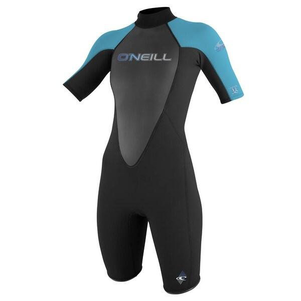 ccb30930bf8f0 Shop O'Neill Black Blue Women's Size 10 One-Piece Wetsuit Swimwear ...