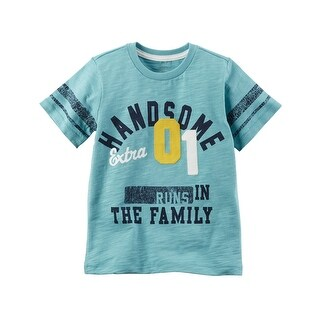 Carter's Little Boys' Handsome Graphic Tee, 3-Toddler