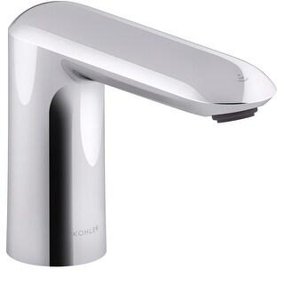 Kohler K-103K36-SANA  Kumin 0.5 GPM Single Hole Touchless Bathroom Faucet with Grid Drain and Kinesis Sensor, AC-Powered