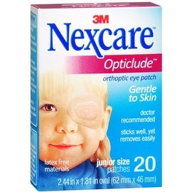 Nexcare Opticlude Orthoptic Eye Patches Junior 20 Each (4 options available)