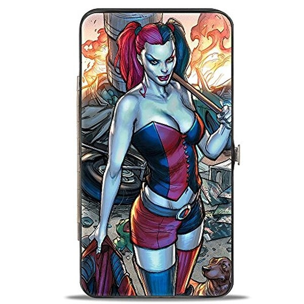 Buckle-Down Hinge Wallet - Harley Quinn