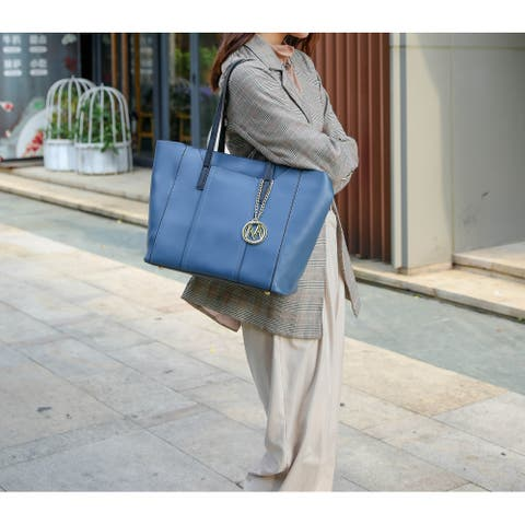 MKF Collection Dinah Light Weight Tote Bag with Wallet by Mia K