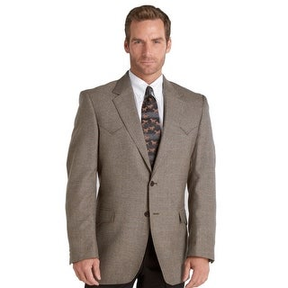 Circle S Western Sport Coat Mens Plano Genuine Lambs Wool CC10B32