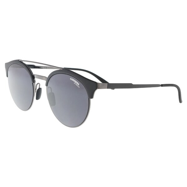 4212386d79 Shop Carrera CARRERA 141 S 0KJ1-IR Dark Ruthenium Round Sunglasses ...