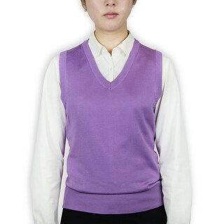 Ladies Classic Sweater Vest (More options available)
