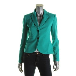 Calvin Klein Womens Two-Button Blazer Knit Lined - 2
