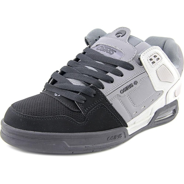 Osiris Peril Men Round Toe Synthetic Gray Skate Shoe