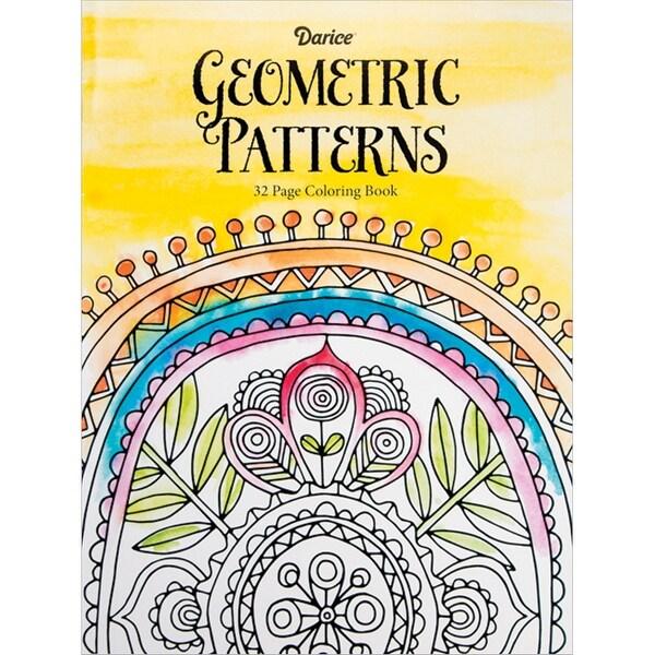 Darice Coloring Book-Geometric Patterns