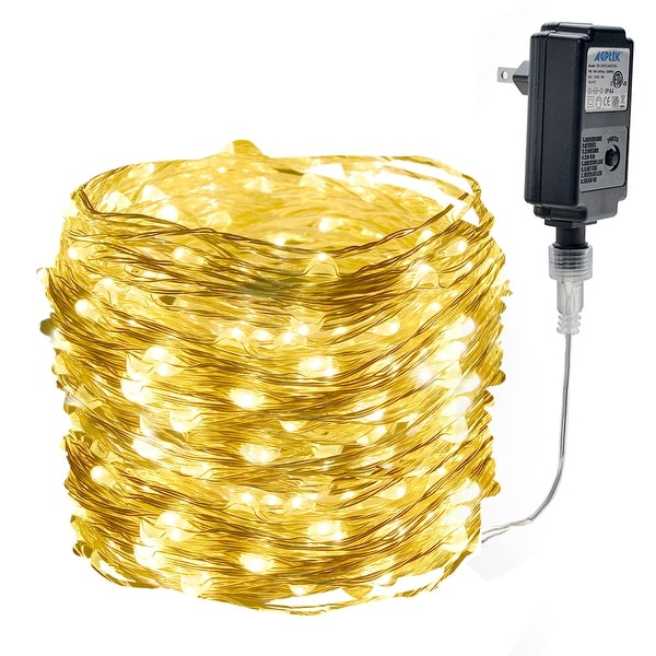 10M 33ft 100 LED Copper String Lights Waterproof Wire Starry Light 8 flashing modes