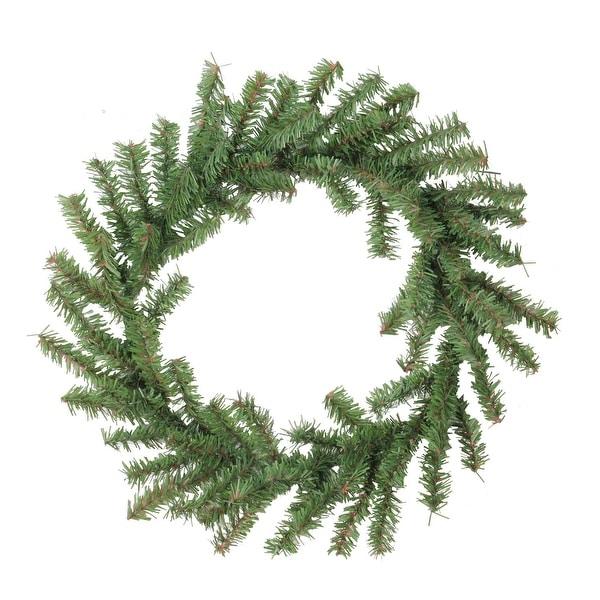 "12"" Mini Pine Artificial Christmas Wreath - Unlit - green"