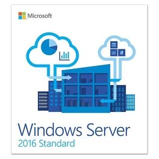 Microsoft Windows Server 2016 Standard 64 Bit 10 Client