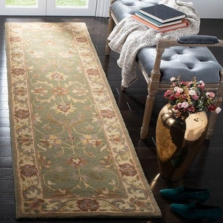 Link to Safavieh Handmade Heritage Alexia Traditional Oriental Wool Rug Similar Items in Transitional Rugs