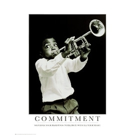 ''Commitment'' by Anon African American Art Print (28 x 22 in.)