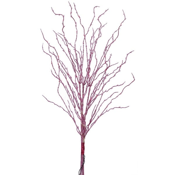 60Lt Pink Micro LED Pink Twigs