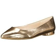 Nine West Women's Onlee Synthetic Pointy Toe Flat