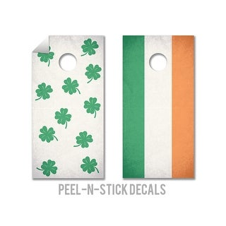 Luck O The Irish Cornhole Board Decals