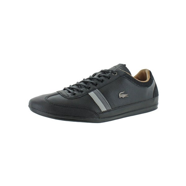 b9bef0d6128a Shop Lacoste Mens Misano Casual Shoes Leather Ortholite - 11 Medium (D) -  Free Shipping Today - Overstock - 28078856