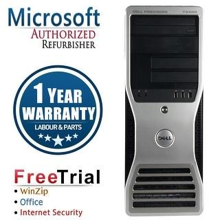 Refurbished Dell Precision T3400 Tower Intel Core 2 Duo E6550 2.33G 4G DDR2 160G DVD NVS285 Win 7 Pro 64 Bits 1 Year Warranty