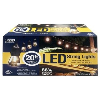 Feit Electric 227406 LED String Light Set - 3.6 W