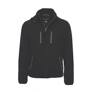 Men's Hooded Lightweight Jacket with Removable Hood