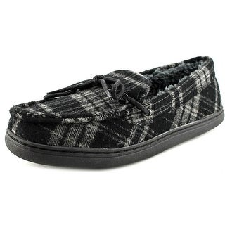HideAways by L.B. Evans Jedd Round Toe Canvas Slipper