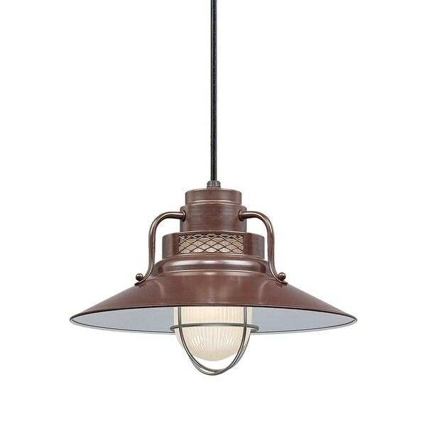 "Millennium Lighting RRRC14 R Series 1-Light 14"" Wide Cord Hung Pendant - N/A"