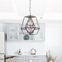 Black Clear 4 To 6 Ceiling Lights Shop Our Best Lighting Ceiling Fans Deals Online At Overstock