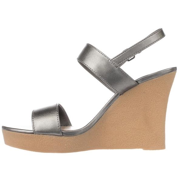 Athena Alexander Womens Beryl Open Toe Casual Wedged Sandals