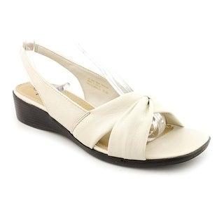 Life Stride Mimosa Women Open-Toe Synthetic Ivory Slingback Sandal