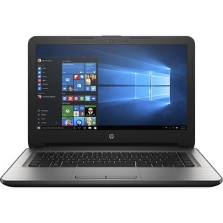 "Manufacturer Refurbished - HP 14-an010nr 14"" Laptop AMD E2-7110 1.8GHz 2GB 32GB eMMC Windows 10"