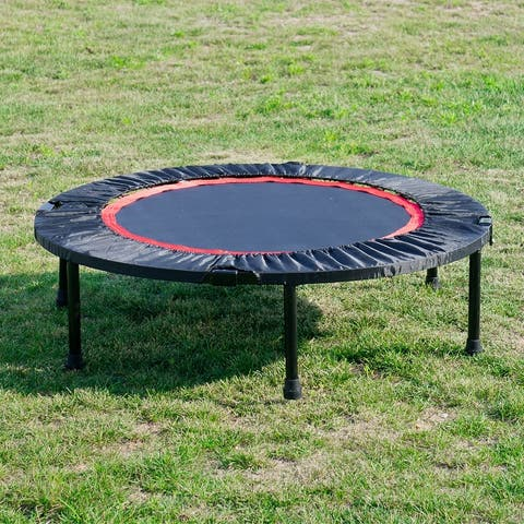Merax 40 Inch Mini Exercise Trampoline with Safety Pad