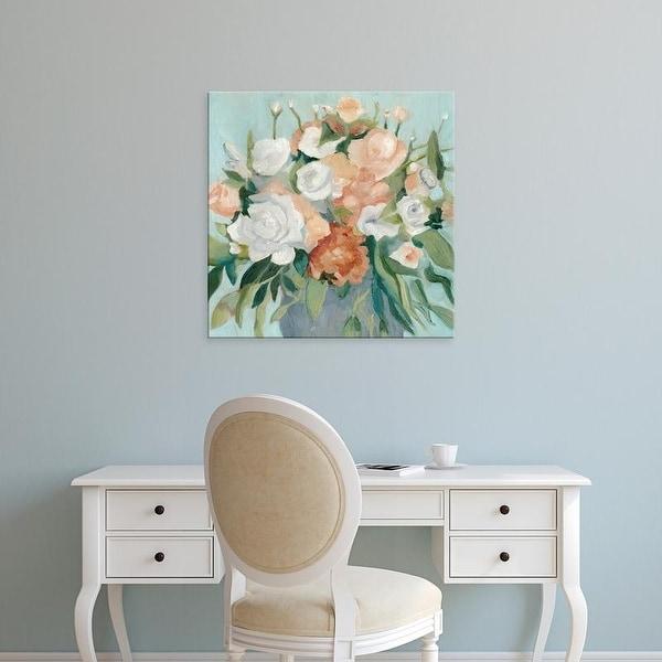 Easy Art Prints Emma Scarvey's 'Soft Pastel Bouquet I' Premium Canvas Art