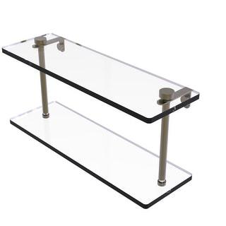 Allied Brass Two Tiered Glass Shelf