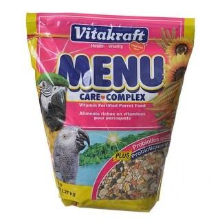 Vitakraft Menu Care Complex Parrot Food 5 lbs