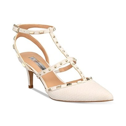 INC International Concepts Womens CARMA Pointed Toe Ankle Strap D-orsay Pumps