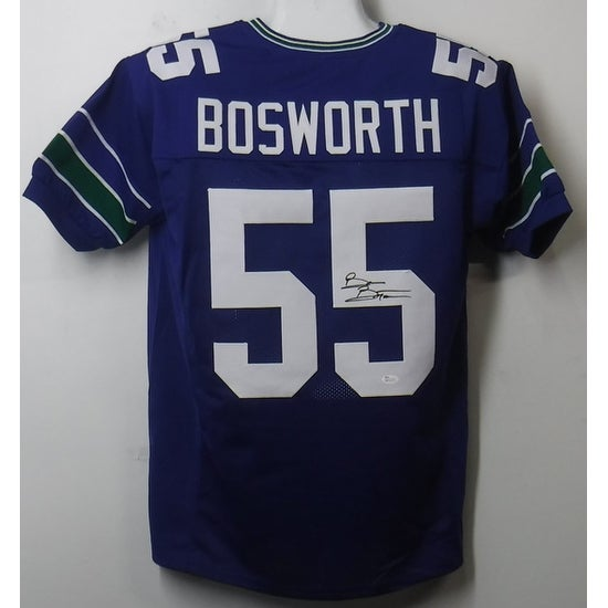 e4b075ebdaf Shop Brian Bosworth Autographed Seattle Seahawks Blue Size XL Jersey JSA -  Free Shipping Today - Overstock - 13483042