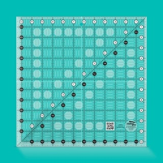 """Link to Creative Grids Quilt Ruler 12-1/2in Square - 12.5"""" x 12.5"""" x 0.25"""" Similar Items in Sewing & Quilting"""