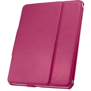 Unlimited Cellular Leather Folio Case for Apple iPad 4/3/2 - Pink