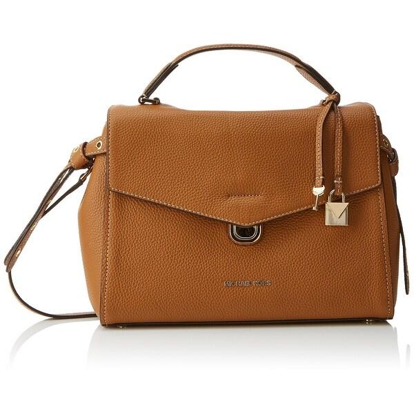 343437ca1263 Shop Michael Kors Acorn Beige Bristol Medium Top-Handle Satchel Bag ...