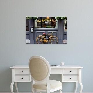 Easy Art Prints Keri Bevan's 'Marylebone Bike' Premium Canvas Art