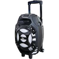 QFX PBX-61081BTBLUE 2,600-Watt Portable Bluetooth(R) Party Speaker